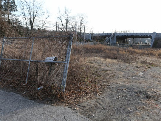 The site of a controversial Chappaqua station development at 54 Hunts Place in Chappaqua photographed Dec. 14, 2016.