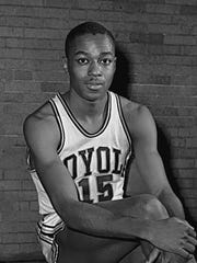 FILE In this Feb. 20, 1963, file photo, Loyola's Jerry