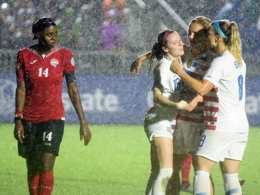 USP SOCCER: 2018 CONCACAF WOMEN'S CHAMPIONSHIP-TRI S SOC USA NC