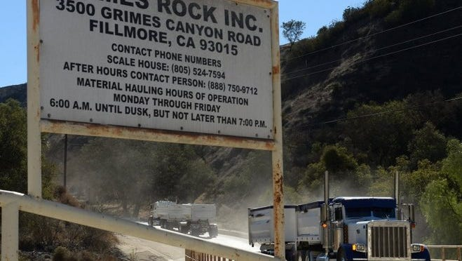 A court has upheld the bulk of an agreement  by which sand trucks from Grimes Canyon quarries would in general avoid Moorpark on their way to Malibu for the Broad Beach replenishment project. But project officials have not yet decided whether the Grimes Canyon quarries will be the source of sand for the replenishment.