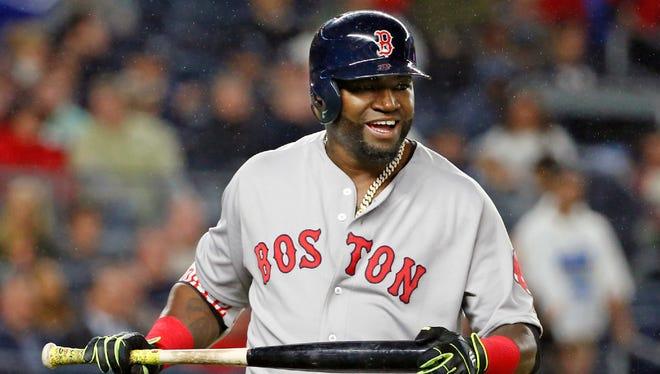 Red Sox slugger David Ortiz.