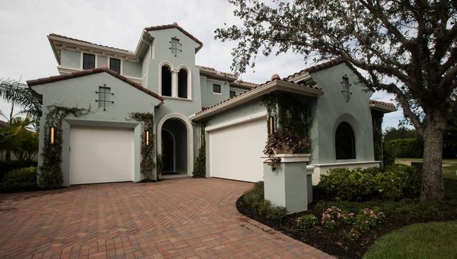 The Highlands is one of 12 planned homes in the gated section of Miromar Lakes Beach & Golf Club. Randall Mitchell Custom Homes is building the villas in the Villa d' Este neighborhood.