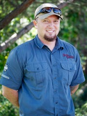 Tom Cabe, a forest resource specialist and tribal member