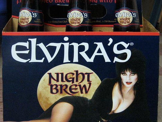 The Cold Spring Brewing Company partnered with former Coors spokesperson and Elvira actress Cassandra Peterson for Elvira's Night Brew in 1997.
