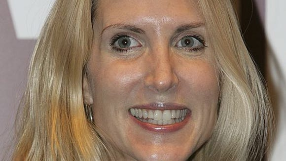 Conservative political commentator Ann Coulter in 2005