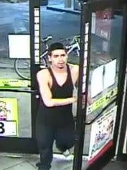 Suspect 2 involved in stealing beer from a Circle K