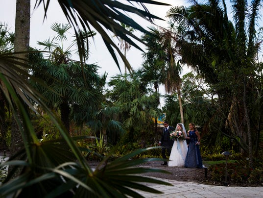 Naples Botanical Garden ready for a special wedding after Irma