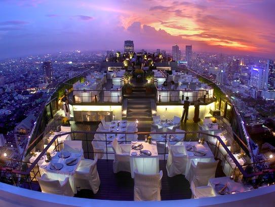 The Vertigo and Moon Bar on the rooftop of the Banyan