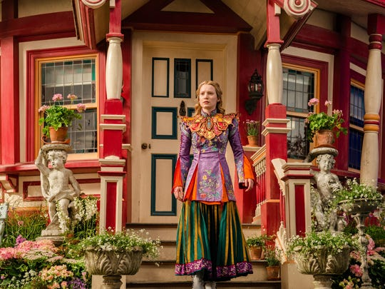"""""""Alice Through the Looking Glass"""" (May 27): Alice (Mia Wasikowska) returns to Wonderland and goes back in time to save an old pal from Time himself"""