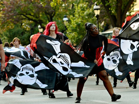 The 67th annual York Halloween Parade makes its way