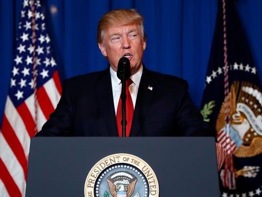 AP TRUMP US SYRIA A USA FL