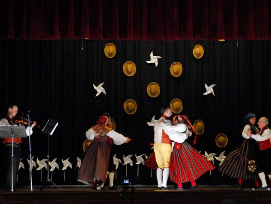 The Nordic Dancers of Washington, D.C., will perform