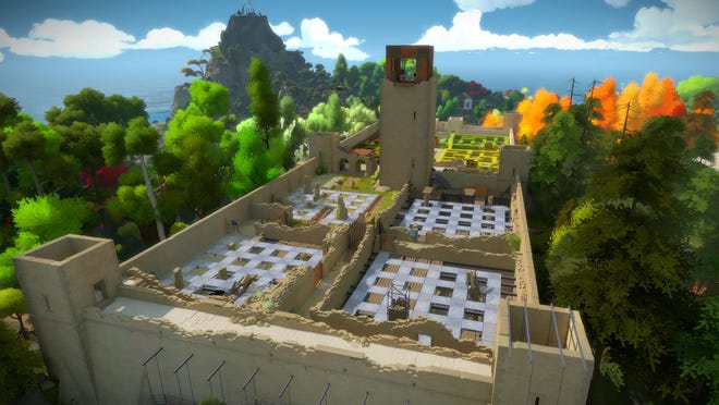 """""""The Witness"""" is set in a mysterious island with hundreds of puzzles."""
