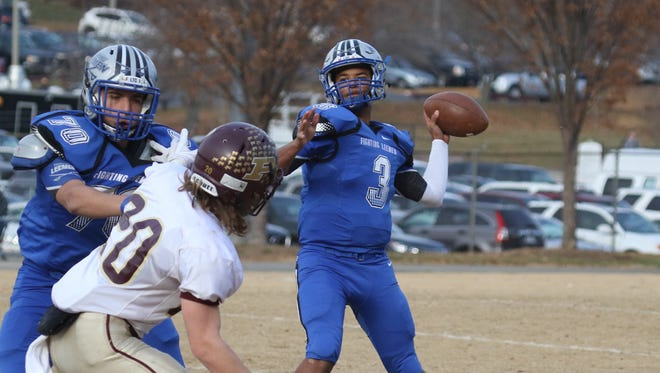 Robert E. Lee's Jayden Williams, the City/County Student-Athlete of the Year, was named the VHSL's Class 2 Offensive Player of the Year after leading the Leemen to the state final vs. Appomattox.