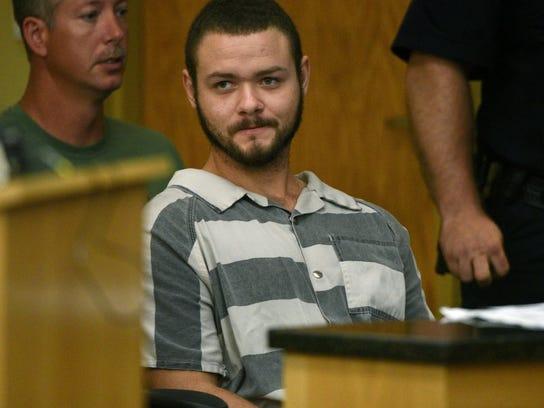 Alleged greenway killer Timothy Dwayne Ison during