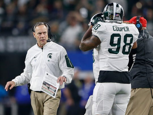 Mark Dantonio and the Spartans are relying on junior