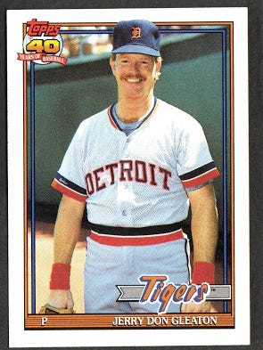 Jerry Don Gleaton 1991 Topps