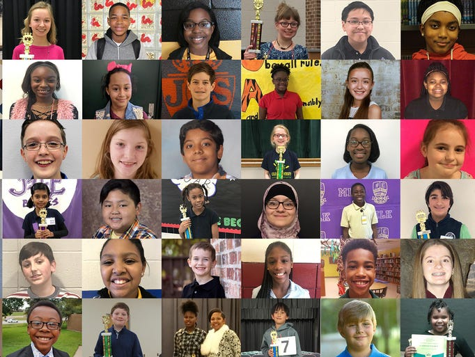 These 47 students will represent their schools at the