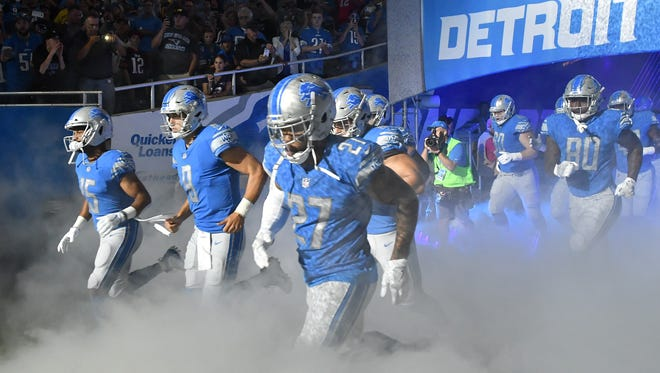 The Lions are one of nine teams projected by Bovada to finish the regular season with eight wins.