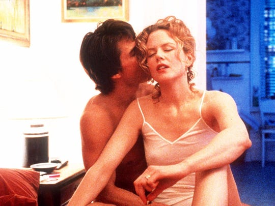 """Tom Cruise and Nicole Kidman were married when they starred in 1999's """"Eyes Wide Shut."""""""