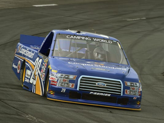 Austin Theriault fractures back after Truck Series crash at Las Vegas