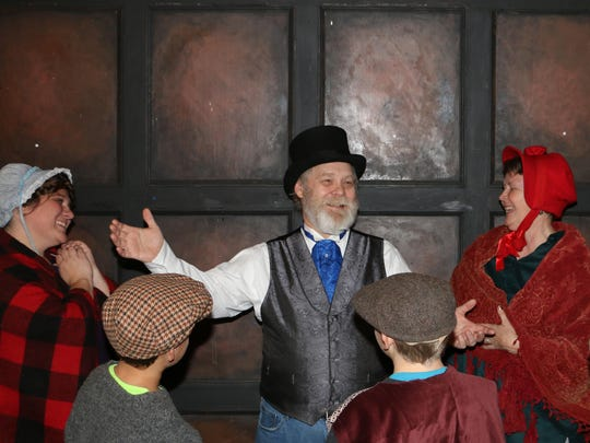 """Hamilton-Gibson Productions will present performances of """"A Fezziwig Christmas"""" in the Gallery at the Deane Center's Warehouse Theatre on Friday and Saturday."""