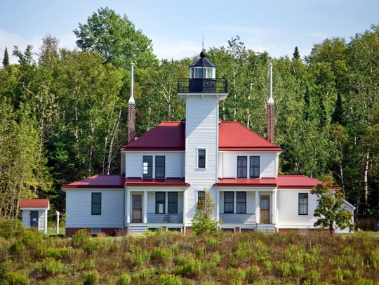 "The Raspberry Island Lighthouse has been called ""the"