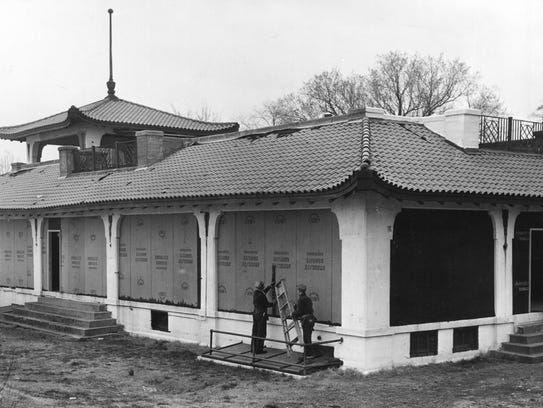 Sunset Park Pavilion was added to the National Register