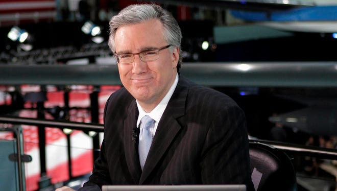 Keith Olbermann, hosting TBS' baseball playoff coverage in 2007.