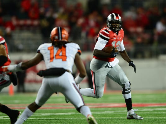 NCAA Football: Illinois at Ohio State