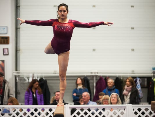 Essex vs. CVU Gymnastics 01/16/15