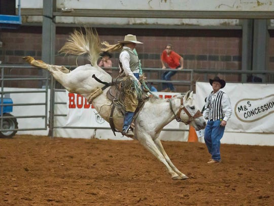 Brittany Miller, 25, has been competing in rodeos for