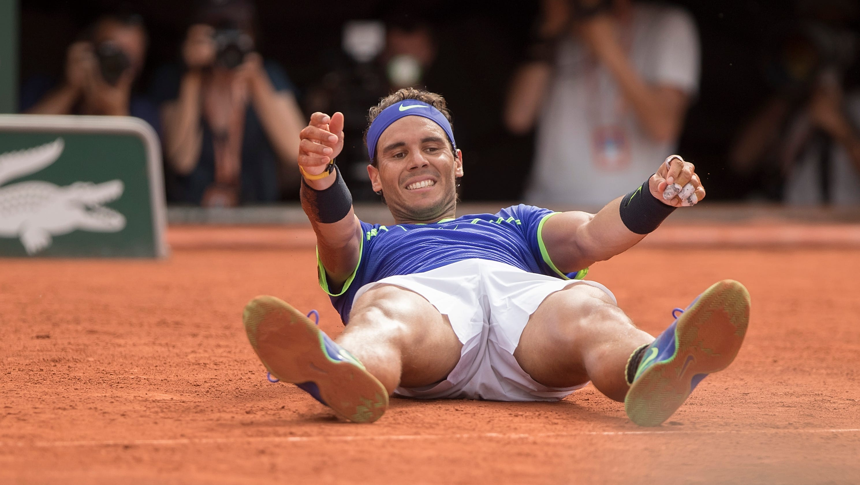 who is playing in the french open today