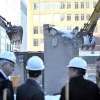 Hudson's site groundbreaking: Detroit's going vertical