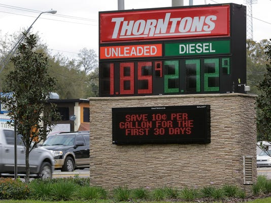 Thorntons, low gas prices
