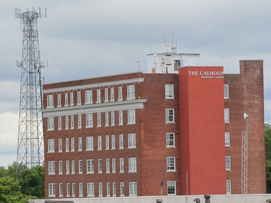 The Calhoun Apartments in Anderson.