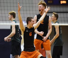 Central York boys' volleyball wins District 3 Class 3A title