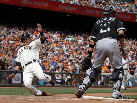 White Sox Giants Baseball