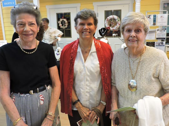 Ann Wright, Nina Bechtel and Rae Kane, for whom the