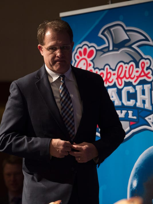 Peach Bowl Coaches Press Conference