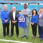 Buffalo Bills first-round pick Shaq Lawson