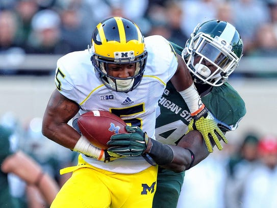From 2014: Michigan Wolverines running back Justice