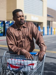 Andre Murphy shops at Walmart because it is close to