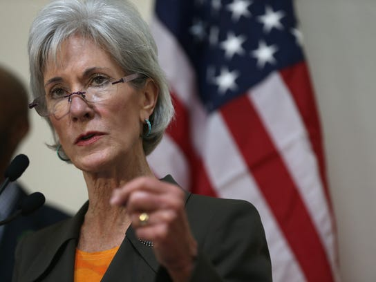 Former  Health and Human Services Secretary Kathleen Sebelius criticized Hillary Clinton and White House staff members for smearing her husband's accusers.