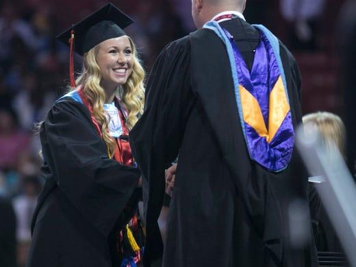 Hillcrest High 2013-14 graduates