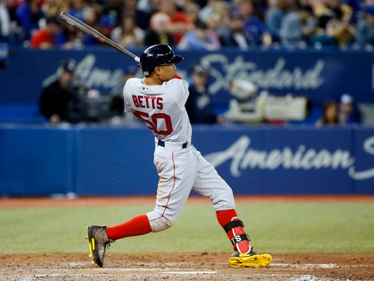 USP MLB: BOSTON RED SOX AT TORONTO BLUE JAYS S BBA TOR BOS CAN ON
