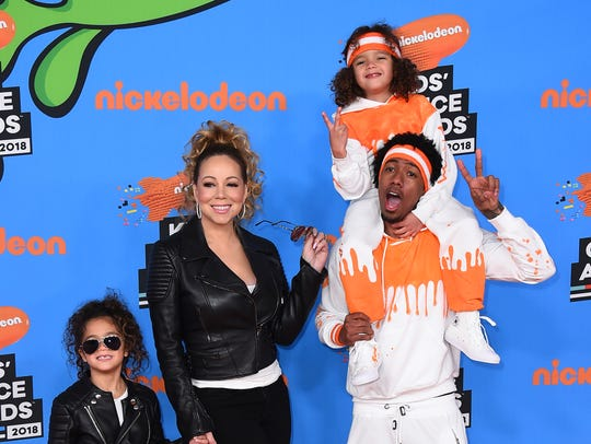 Mariah Carey shares two children with her ex-husband,