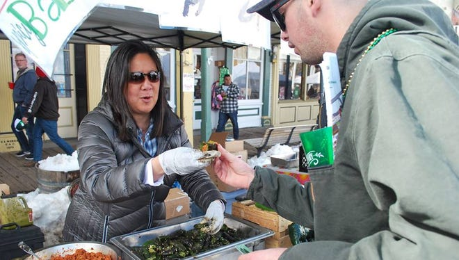 The 27th annual Rocky Mountain Oyster Fry March 17 in Virginia City featured nearly 30 cookers and vendors.