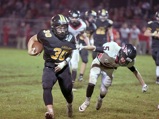Trevor Shawber, coming off a 1,000-yard season, takes