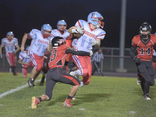 Ridgedale football Hunter Boyd